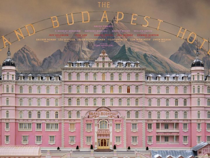 The Grand Budapest Hotel directed by Wes Anderson