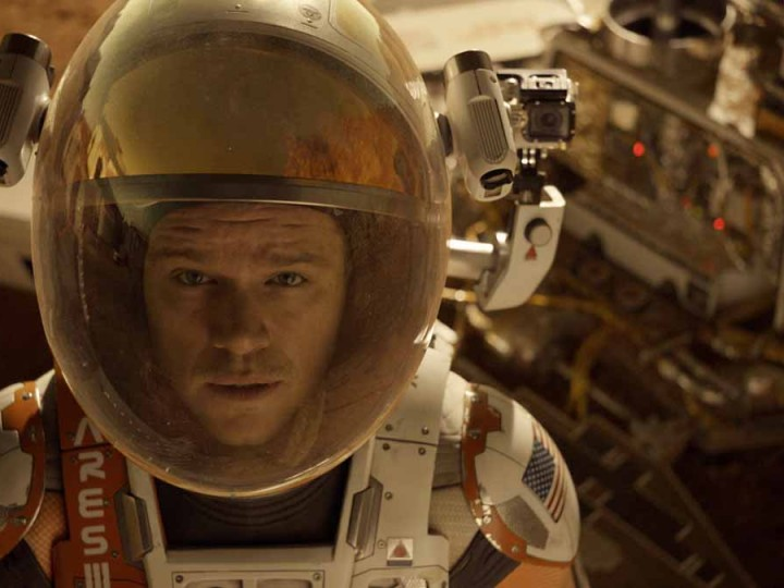 The Martian from Ridley Scott
